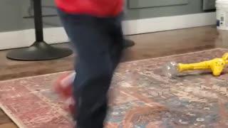 Dancing toddler coolio