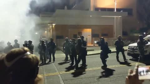 Biden riots in Oregon