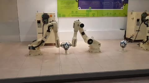 Industrial line robots have the soft touch.