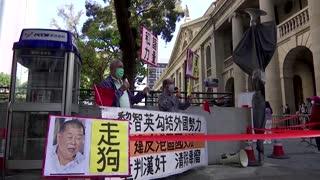 Hong Kong media tycoon Jimmy Lai denied bail