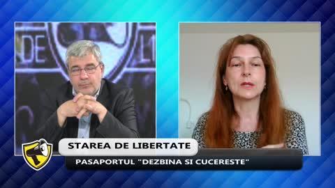 Starea de Libertate - 22 aprilie cu dr. Anca Nitulescu din nou despre pasaportul de vaccinare