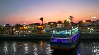 Nile Trip Celebrations In Lovely Sunset Egypt