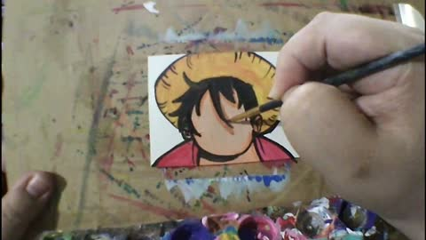 Surprised Luffy