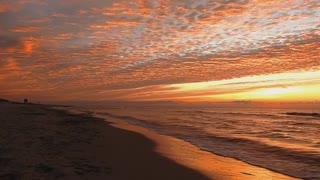 No Copyright Background Video Nature Sunset Beach