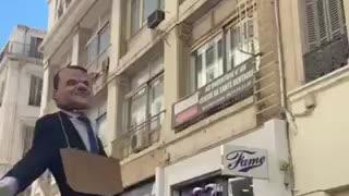 Macron tyrannical hangman