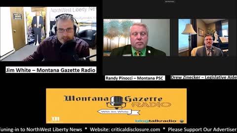 Montana Gazette Radio - Randy Pinocci and Drew Zinecker