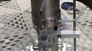 Whiskey Pouring Machine.