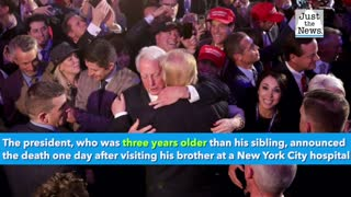 Donald Trump's brother, Robert, died