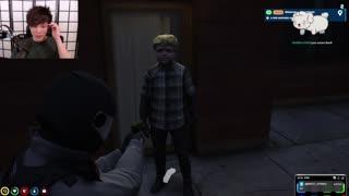 Officer Yuno caught a criminal sykkuno