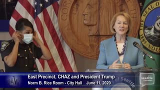 Seattle Mayor Thelma Louise moment