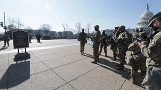 National Guard at Washington DC