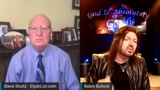 """ROBIN BULLOCK: GOD SAYS: """"STOP WORRYING. I HAVE SET UP A SURPRISE."""" (new)"""