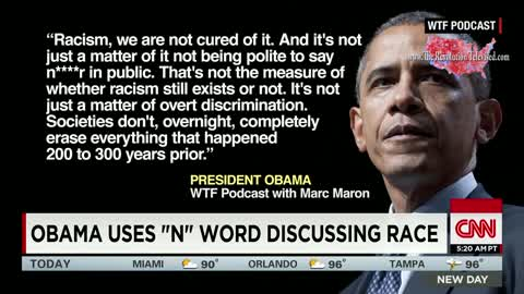 Obama drops the P bomb and the media is silent; Presented by The Revolution Televised