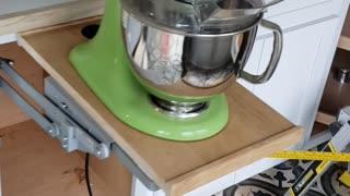 Mixer Cabinet hardware Kitchenaid