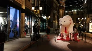 Amazing Beverly Hills Christmas Lights Bear Decoration Los Angeles Beautiful christmas