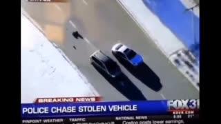 Police Chase stolen vehicle