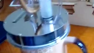 Sterling Engine in action