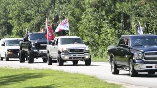 Trump-less Trump Rally