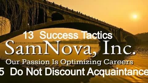 Optimize Your Career | 13 Success Tactics