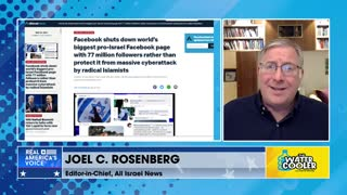 Joel Rosenberg: Facebook's Big Tech Censorship Against Israel?