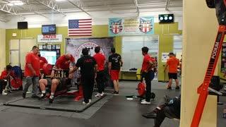 633 lb bench press, world record