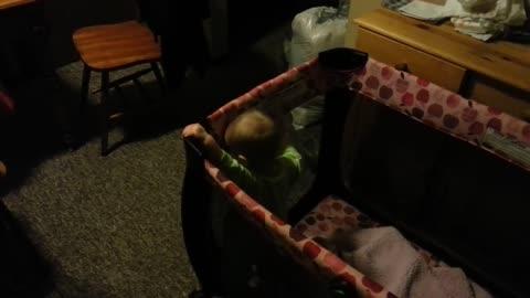 Baby cries Chewbacca