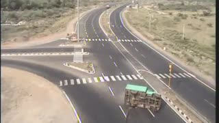 Unexcepted road accident