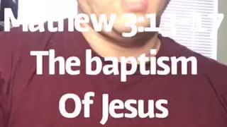 Mathew 3:13-17