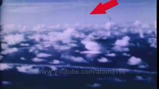 UFO recorded during an atomic bomb blast