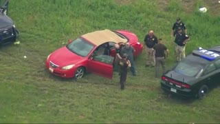 Wild Police Chase with a Great PIT Maneuver in Oklahoma