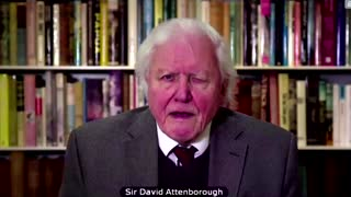Attenborough: Climate change global security threat