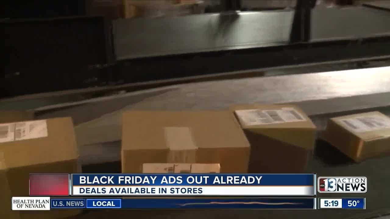 Black Friday ads have started