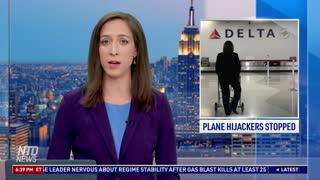 Man Thwarts Plane Hijacker, Inspires Others