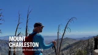Tightrope and Caboose Tackle Mount Charleston