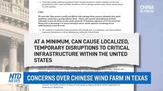 Concerns Over Chinese Wind Farm in Texas