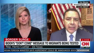 Border State Dem Goes on CNN to TORCH Biden for Open Borders Policies