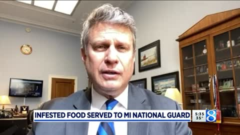 National Guard Troops in D.C. Served Infested Food