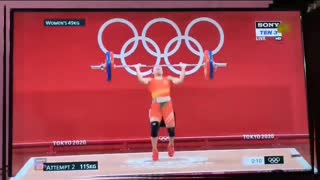 INDIA got 1st medal in tokyo olympic 2021   1st silver medal BY MIRABAI CHANU