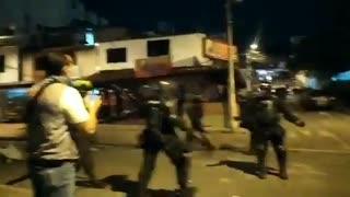 Videos: Denuncian uso excesivo de la fuerza por parte del Esmad y Policías en marchas de Bucaramanga