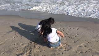 Sunny beach walk | Summer holiday