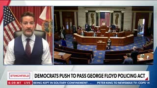 Rep. Greg Steube Joins Newsmax to Discuss Democrats' Efforts to Defund the Police
