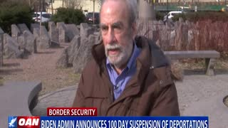 Biden administration announces 100 day suspension of deportations