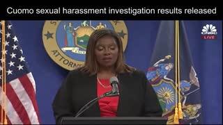 Attorney general releases investigation into Governor Cuomo