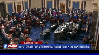 House, Senate GOP affirm impeachment trial is unconstitutional