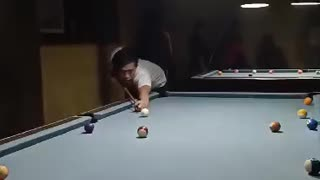Slowmotion pool