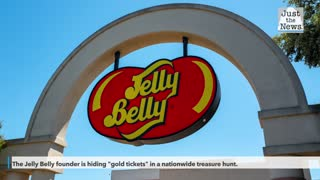 Jelly Belly Founder giving away candy factory