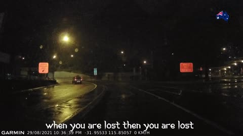 When You Are Lost Then You Are