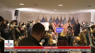 Trump Legal Team's Epic Press Conference