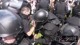 Footage purports to prove undercover police presence at Justice for J6 Rally in Washington..!!