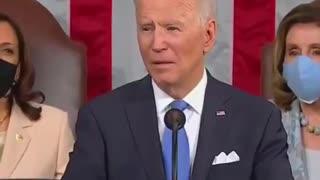 Ted Cruz falls asleep to Biden